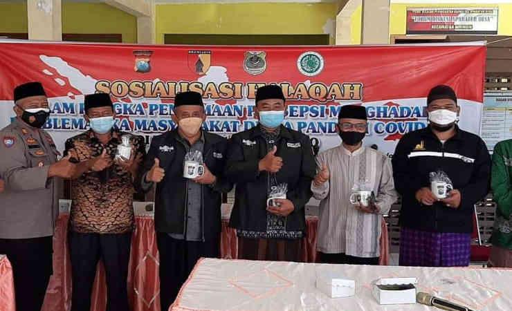 Camat Curahdami Bondowoso Dorong Masyarakat Terapkan Prokes dan Ikut Vaksinasi