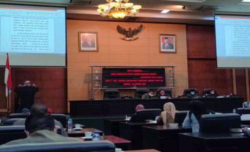 Paripurna Pandangan Akhir, Fraksi PKS Perindo Soroti Kekosongan 4 Pimpinan OPD di Jombang