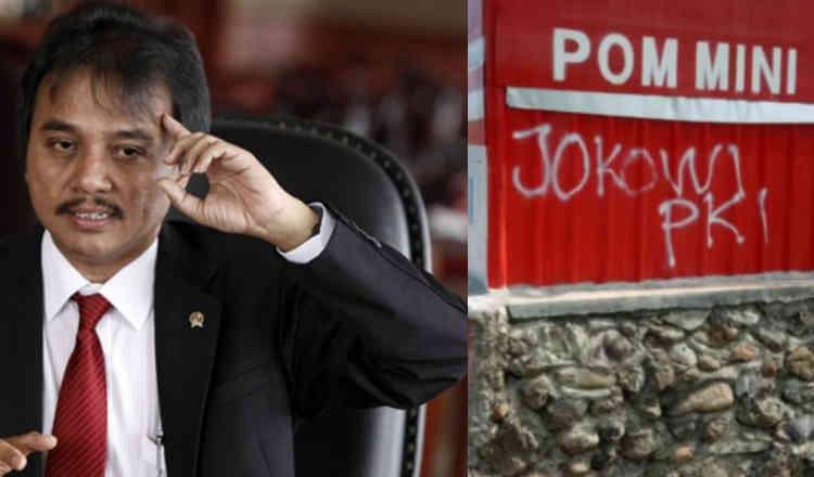 Banyak Vandalisme PKI, Roy Suryo: Ayo Muralkan Indonesia tanpa Vandalisme
