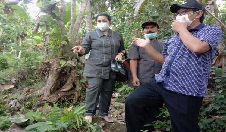 Kakak Beradik ke Sekolah Seberangi Sungai, Fraksi Golkar DPRD Banyuwangi Gerak Cepat Tinjau Lokasi
