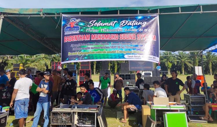 Jalin Silaturahmi dan Kopdar, Kommunitas Sound System Mukomuko Gelar Balap Sound