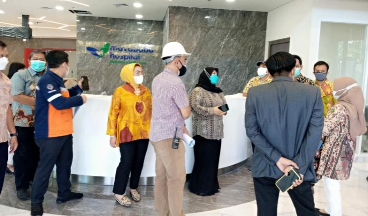 Komisi A Soroti Pembangunan Mayapada Hospital di Jalan Mayjend Sungkono Surabaya