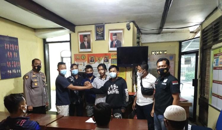 Perkelahian Pemuda Tuban Akibat Saling Ejek, Berujung Damai di Kantor Polisi