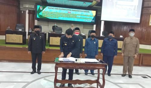 Pemkab Tuban dan DPRD Sepakati P-APBD 2021 Rp 2,8 Triliun