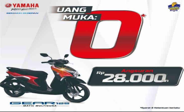 Beli Motor di Yamaha Jatim Cuma Rp 28 Ribu