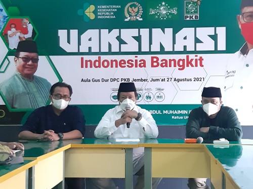 Anggota DPR RI dari PKB Siapkan 8 Ribu Vaksin untuk Masyarakat Jember