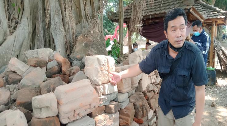 Ekskavasi di Pertirtaan Sumberbeji Ngoro Jombang Kembali Ditemukan Struktur Baru dan Jaladwara
