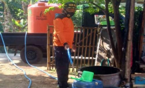 Kekeringan, SAR MTA Purworejo Bantu Air Bersih