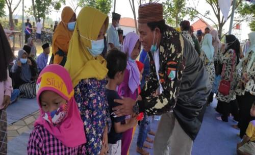 Peduli Anak Yatim,  Pemdes  di Jombang Launcing Rumah Yatim