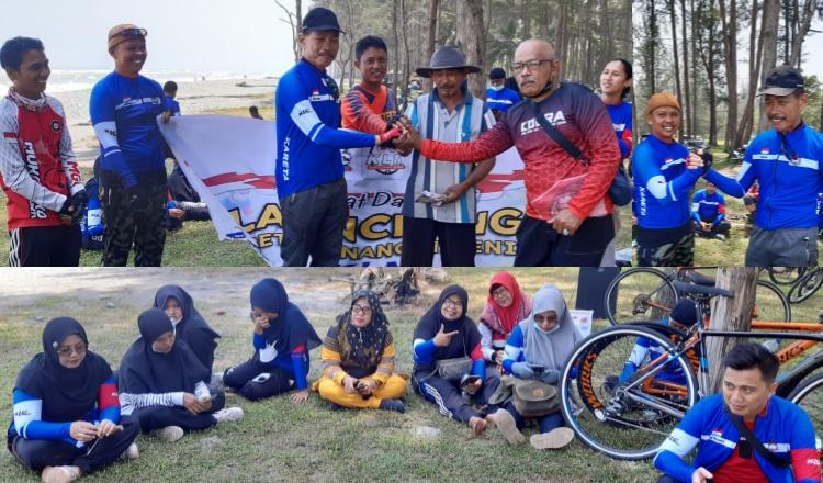 Komunitas Sepeda Mukomuko dan Pesisir Selatan Jalin Silaturahmi