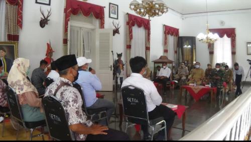 Minta Perlindungan Keamanan, Warga Desa Wadas Pro Tambang Quarry Temui Bupati Purworejo