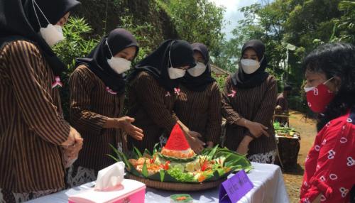 Siapkan Kuliner Khas Desa Wisata, Pokdawis Gunung Gajah Pandanrejo gelar Lomba Tumpeng Goyang Dewa Pandan