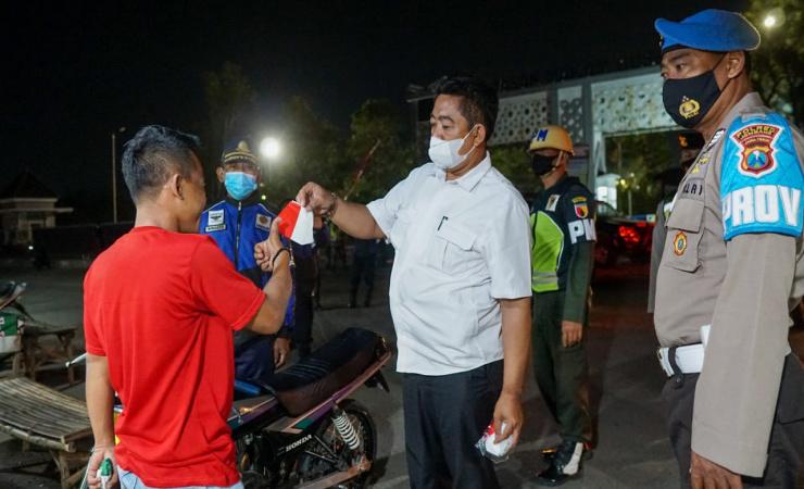 PPKM Diperpanjang, Polres Jombang Gelar Operasi Yustisi Gabungan