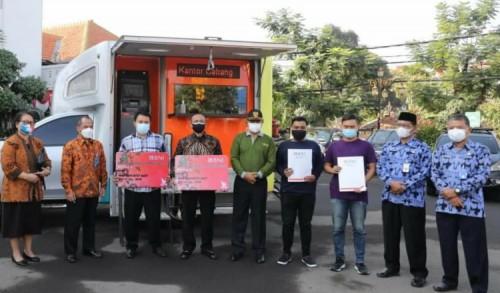 Bantu Ringankan Beban Masyarakat, Wali Kota Madiun Salurkan BLTD