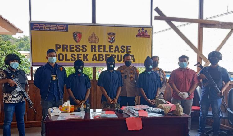 Polsek Abepura Ungkap Tiga Kasus Pembunuhan