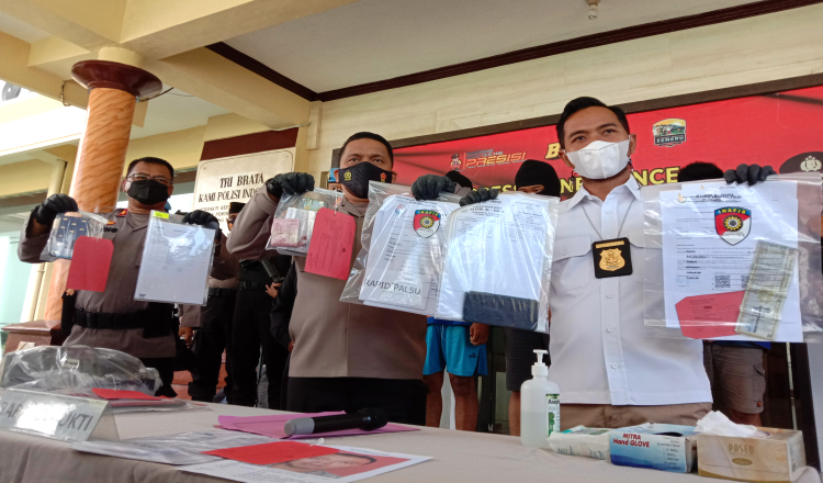 Jual Beli Surat Rapid Test Antigen Palsu di Banyuwangi Terbongkar, Dua Dalang Diamankan