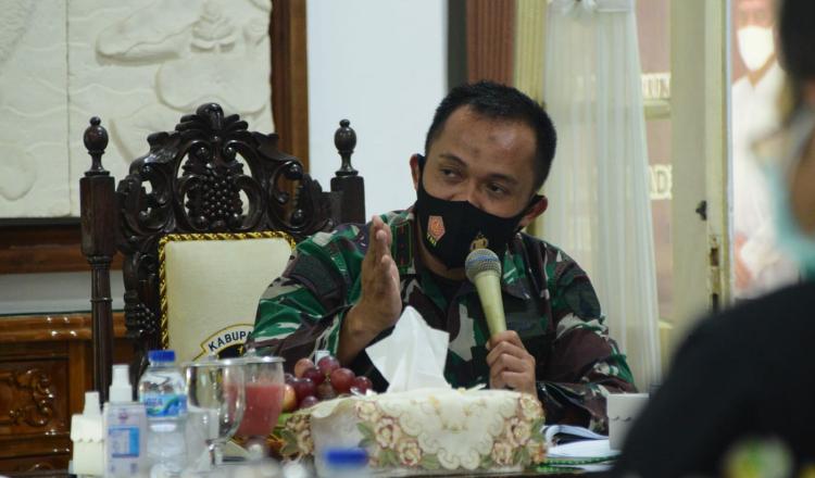 BOR RS Isolasi Turun, Dandim Madiun Imbau Prokes Tetap Dilakukan