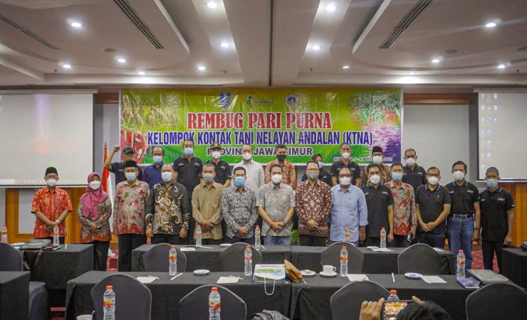 Sumrambah Wakil Bupati Jombang Terpilih Secara Aklamasi Ketua KTNA Jawa Timur
