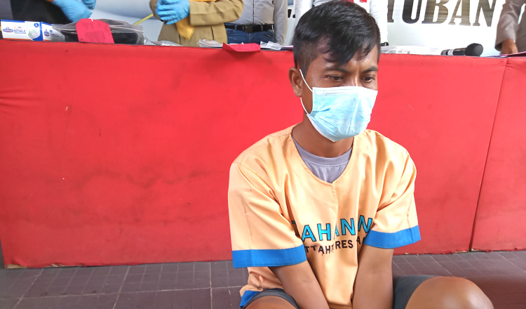 Pelaku Pencurian 149 Tablet SMPN 1 Semanding Ditangkap, Pelaku Satpam Sekolah
