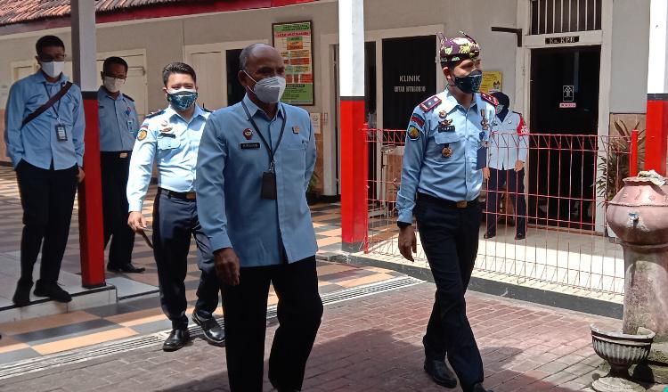 TPI Kemenkumham Tinjau Rutan Kelas IIB Situbondo