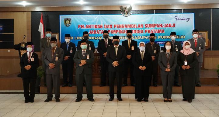Penyegaran, Bupati Purworejo Rotasi 10 Jabatan Pimpinan Tinggi Pratama