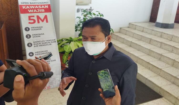 Wakil Ketua DPRD Banyuwangi Pastikan Tak Ada Jual Beli Jabatan di Lingkungan Pemkab