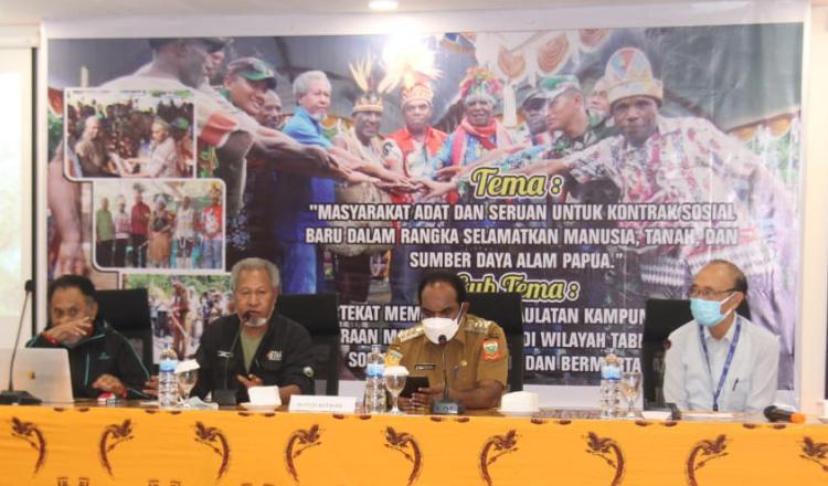 Lestarikan Hutan, Bupati Keerom: Bukan Hanya Pemerintah, Peran Masyarakat Adat Juga Penting