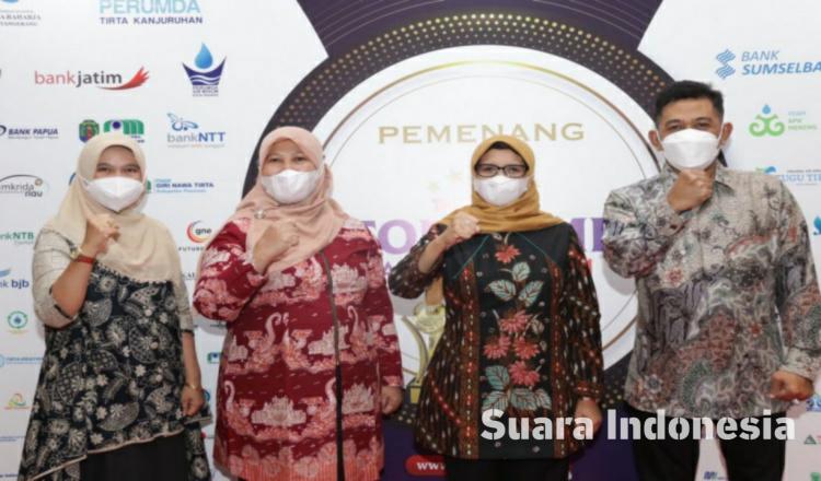 Kabupaten Blitar Borong 3 Penghargaan Top BUMD 2021