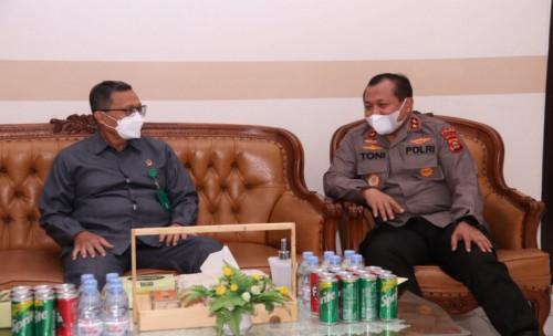 Pererat Silaturahmi, Kapolda Sumsel Kunjungi Pengadilan Tinggi