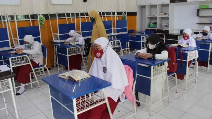PPKM Level 3, Semua Sekolah di Kota Blitar Sudah Gelar Pembelajaran Tatap Muka (PTM)