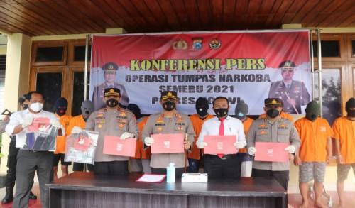 Polres Ngawi Berantas Budak Narkoba, Satu Diantaranya Seorang ASN