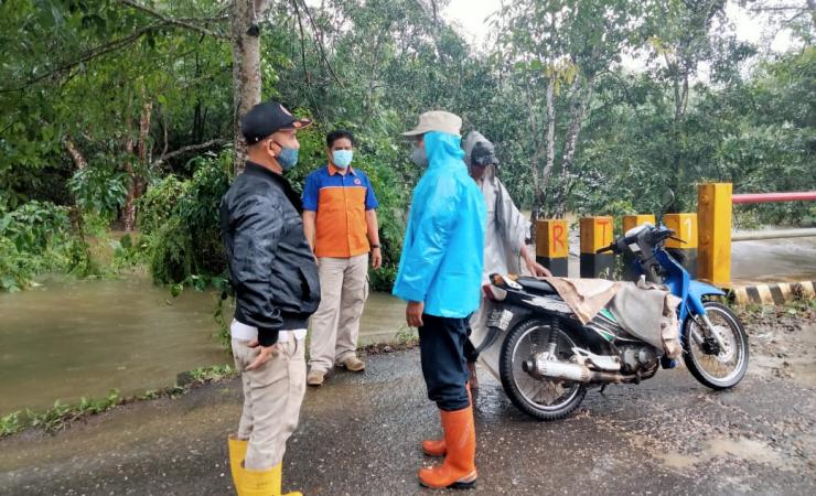 Antisipasi Banjir, BPBD Tabalong Pantau Wilayah Rawan Banjir