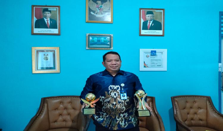 PDAM Tirta Perwitasari Purworejo Raih Tiga Penghargaan Dalam Ajang TOP BUMD Award 2021