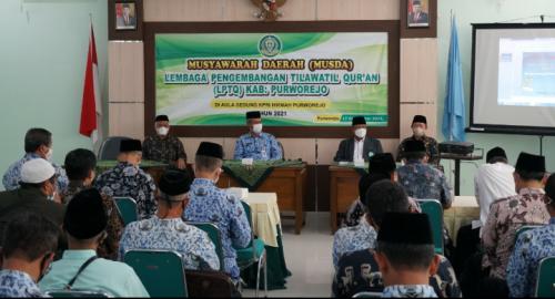 Tingkatkan Kinerja, LPTQ Purworejo Gelar Musda