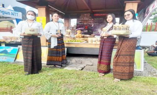 Festival Kelimutu di Ende, Sejumlah Kuliner Daerah Dipamerkan