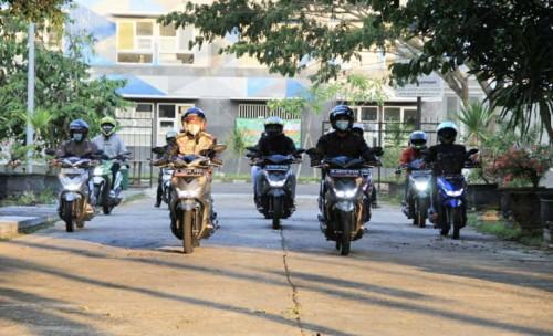 Pecinta Honda BeAT di Malang Gelar Riding Bareng