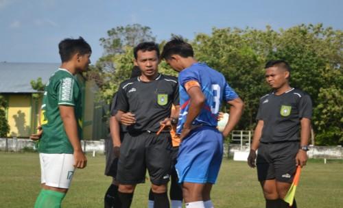 Laga Tanding Menyambut Kompetisi Liga 3 Jawa timur ,Klub Rajawali Biru vs  Klub Bajol Ijo Skor 1- 0