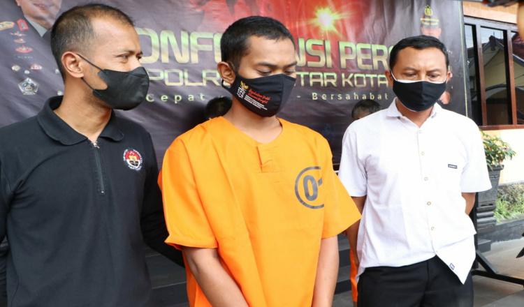 Nekat Curi Kabel Telkom di Kota Blitar, Pria Asal Lampung Dibekuk Polisi