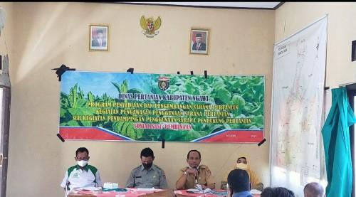 Dinas Pertanian Kabupaten Ngawi Serahkan Bantuan Kepada Petani Tembakau Melalui Anggaran DBHCHT