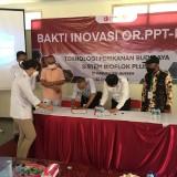 BRIN dan Komisi VII DPR RI Bantu Bioflok dan Benih Ikan untuk Masyarakat Jember