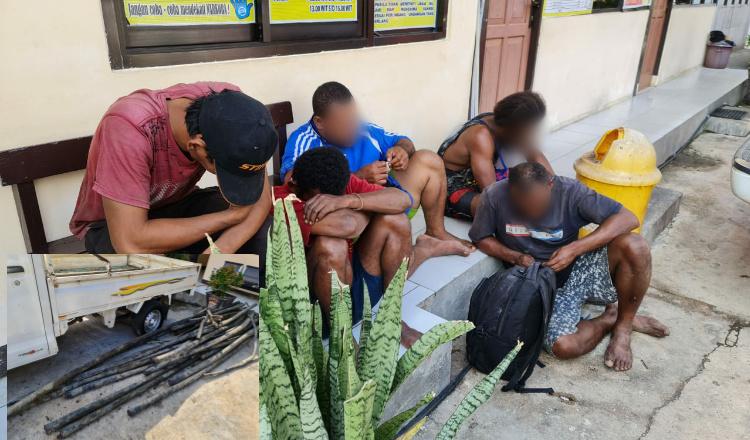 Nekat Curi Kabel Telkom, 5 Warga Jayapura Diancam 9 Tahun Bui