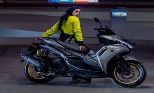 Yamaha Jatim: All New Aerox 155 Connected Banyak Disukai Wanita