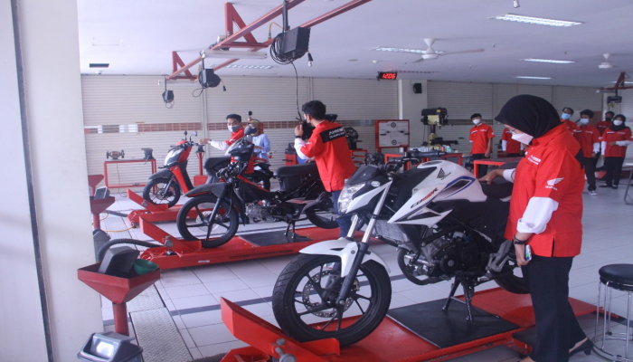 Resmi Dimulai, MPM Honda Jatim Gelar AHASS Academy.