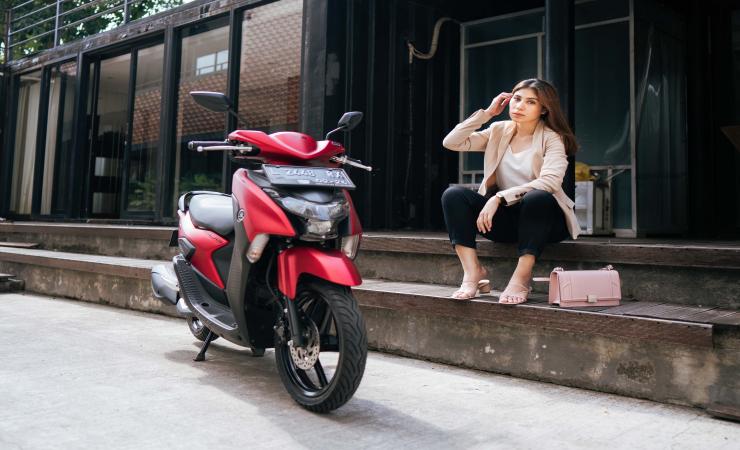 Yamaha Gear 125, Motor untuk Aktivitas Sehari-hari