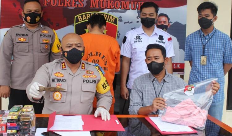 Pemilik Warung di Mukomuko Ditusuk Pencuri Dengan Pisau