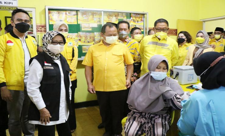 Ciptakan Herd Immunity, DPD Partai Golkar Jombang Siapakan 1000 Dosis Vaksin Bagi Masyarakat Jombang
