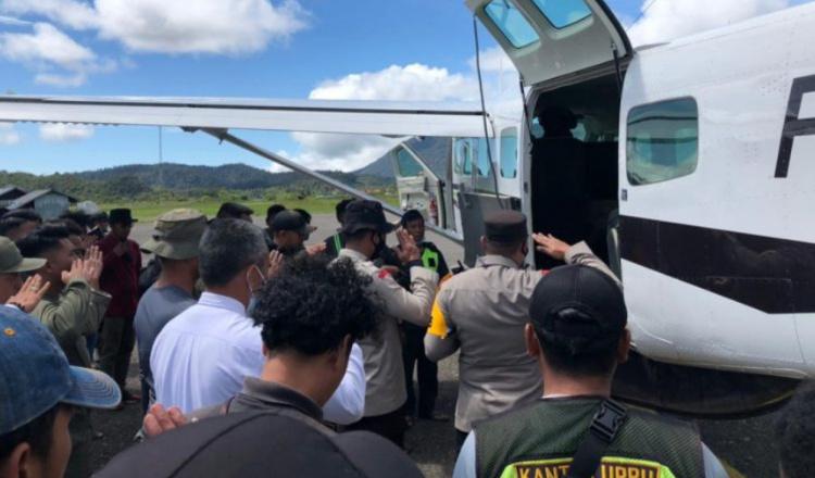 Satu Anggota Polri di Papua Gugur Usai Kontak Tembak Dengan KBB
