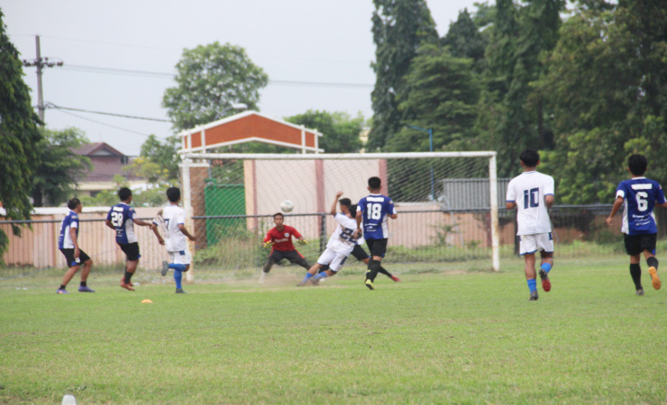 Asah Kemampuan Jelang Liga 3 Jatim, Klub Rajawali Biru Menang 3 - 1 Atas Mojosari Putra FC
