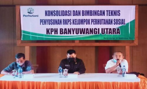 Bersama LMDH, Perhutani Banyuwangi Utara Upayakan Kesejahteraan Masyarakat Desa Hutan