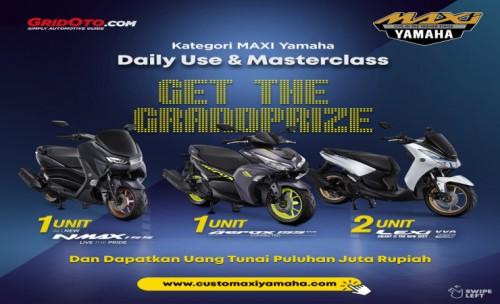 Yamaha Jatim Ajak Pecinta Modifikasi Ikut Kompetisi Online Customaxi